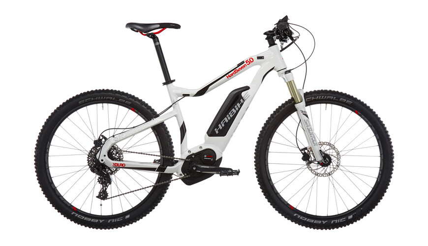 "HAIBIKE Xduro HardSeven 5.0 - Bicicletas eléctricas - 27,5"" blanco"